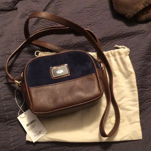 479fb6d6724 🌻🌻Sale Brand NWT UGG Brown/blue crossbody bag NWT